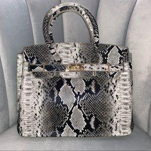 cafff62710 Handbags - Snake Skin Tote Bag (1 Left in Stock)